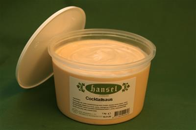 COCKTAILSAUS  1kg  HANSEL