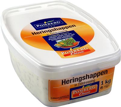 HARINGSALADE IN  DILLE  1kg  PK
