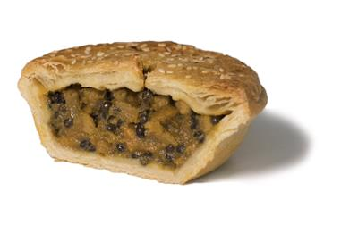 PAUL'S PIE BELUGA LENTILS/SWEET POTATO  12x180gr